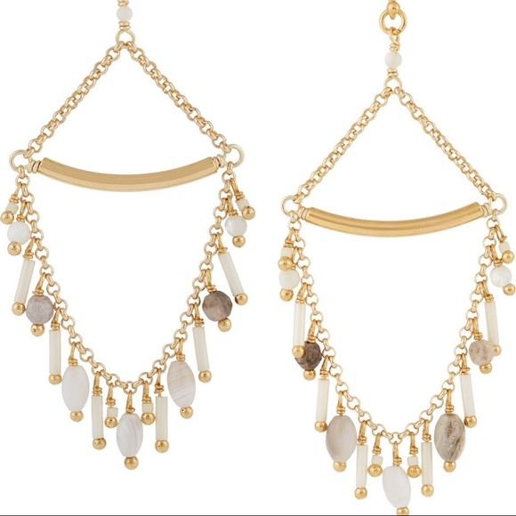 Gold-plated Beaded Earrings - one size Chan Luu oKfiRjs7